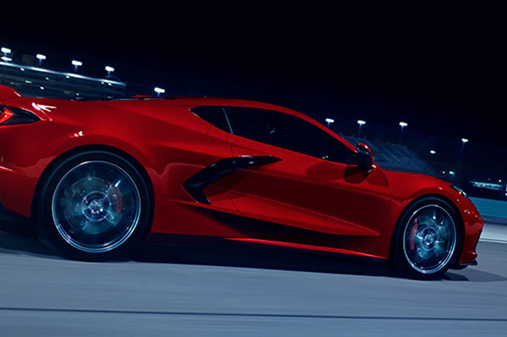 2021 Chevrolet Corvette performance