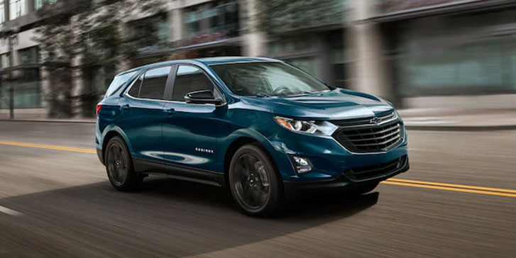 2021 Chevrolet Equinox appearance