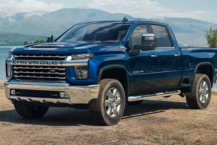 2021 Chevrolet Silverado HD appearance