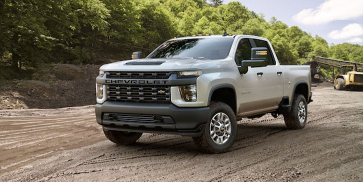 2021 Chevrolet Silverado HD performance