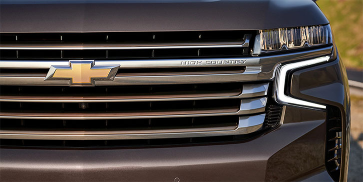 2021 Chevrolet Tahoe appearance