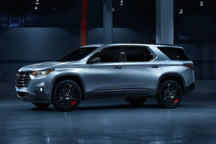 2021 Chevrolet Traverse appearance