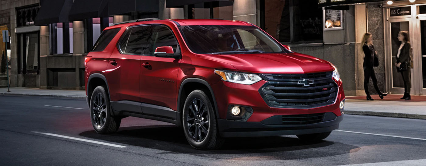 2021 Chevrolet Traverse Safety Main Img