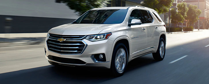 2021 Chevrolet Traverse safety