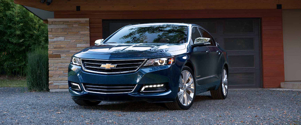 2017 Chevy Impala Overview Image