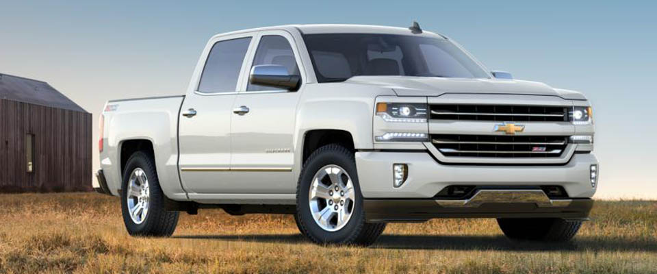 2017 Chevy Silverado 1500 Overview Image