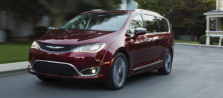 2017 Chrysler Pacifica Hybrid performance