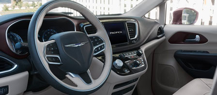 2018 Chrysler Pacifica Hybrid comfort