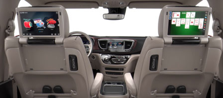2018 Chrysler Pacifica comfort