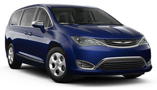 2017 Chrysler Pacifica Hybrid in Victorville