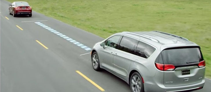 Full-Speed Forward Collision Warning With Active Braking (FCW+)