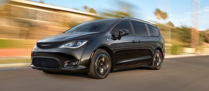 2020 Chrysler Pacifica Hybrid performance