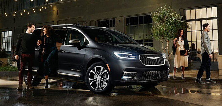2021 Chrysler Pacifica appearance