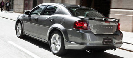 2014 Dodge Avenger performance
