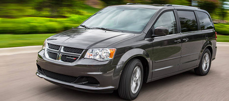 2014 Dodge Grand Caravan performance