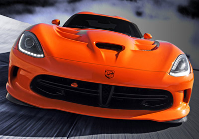 2014 Dodge Viper SRT appearance