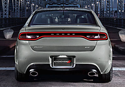 2016 Dodge Dart appearance