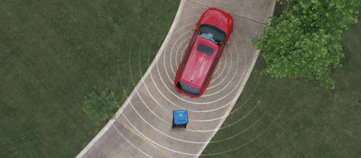 Parksense® Rear Park Assist System