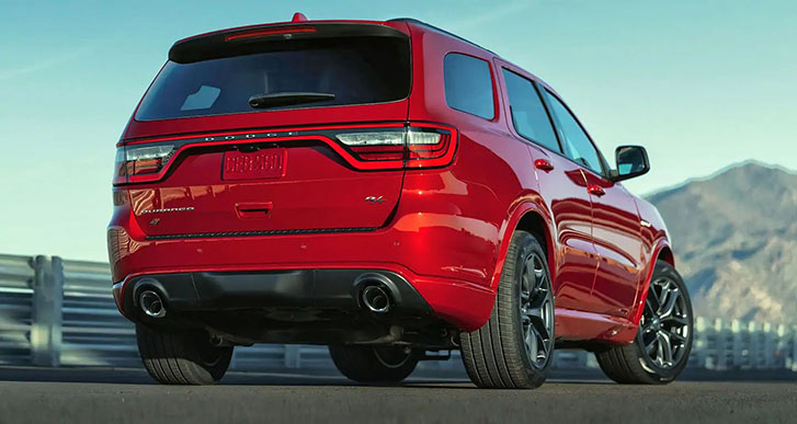 2021 Dodge Durango appearance