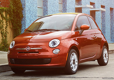 2015 FIAT 500c appearance