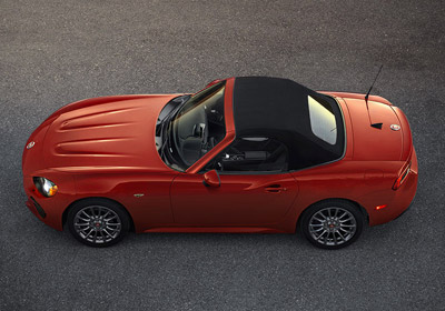 2017 FIAT 124 Spider appearance