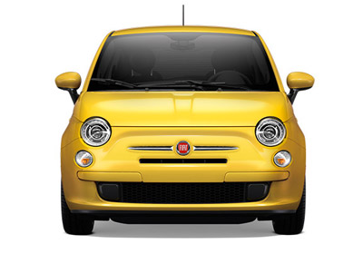 2017 FIAT 500 appearance