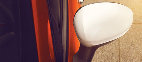 heated power exterior mirrors