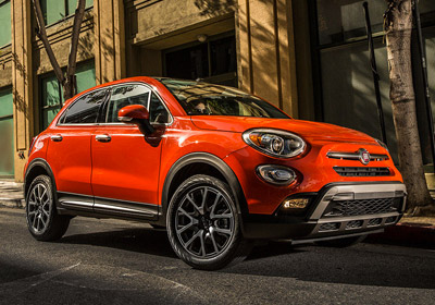2017 FIAT 500x appearance