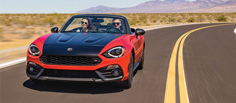 2018 FIAT 124 Spider performance
