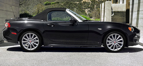 2018 FIAT 124 Spider safety