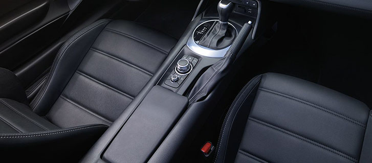 Heated Leather And Microfiber Sport Seats
