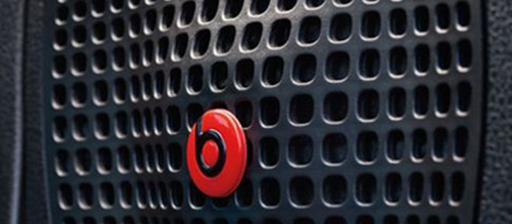 Available BeatsAudio™ Premium Sound System