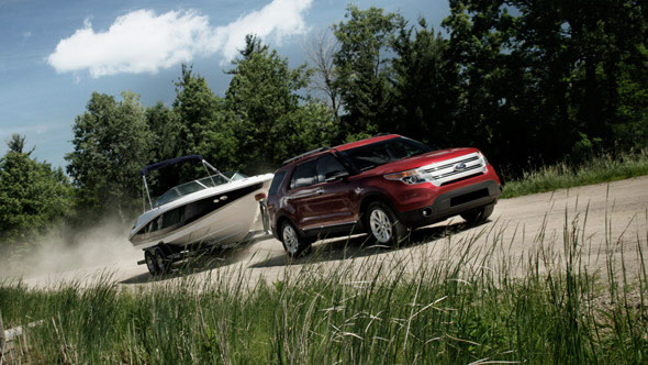 2015 Ford Explorer appearance