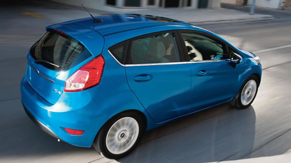 2015 Ford Fiesta appearance