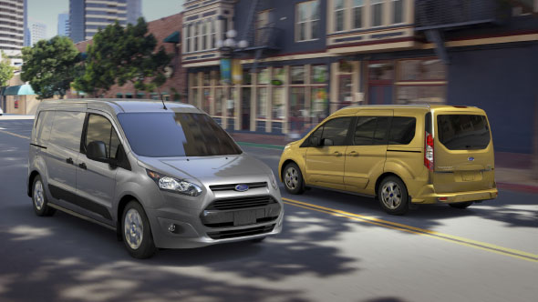 2015 Ford Transit Connect appearance
