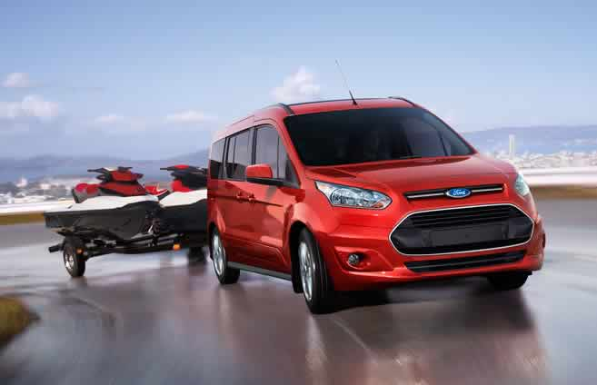 2015 Ford Transit Connect performance