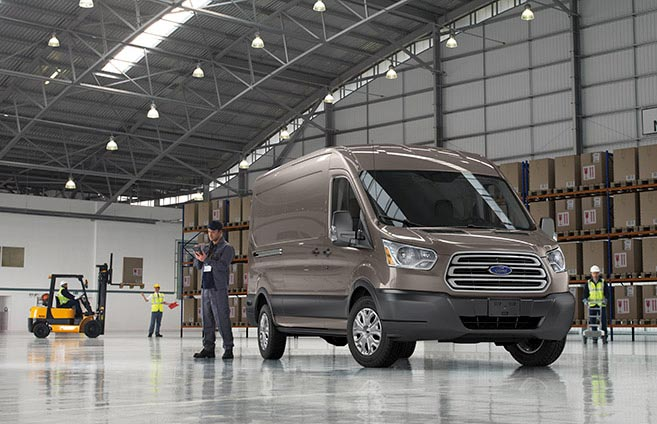 2015 Ford Transit performance