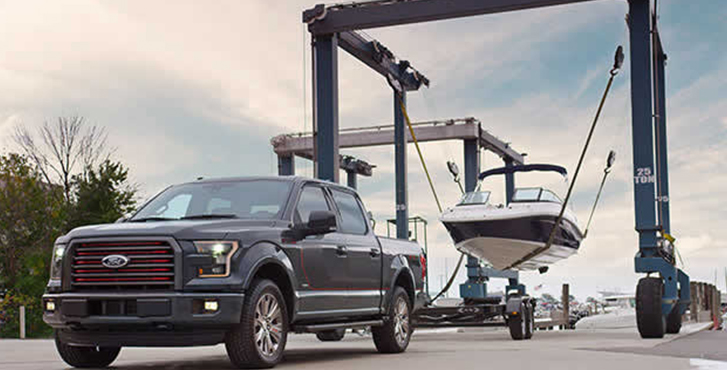 2016 Ford F-150 safety