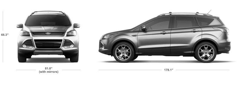 2014 Ford Escape Interior Dimensions Best Accessories Home 2018