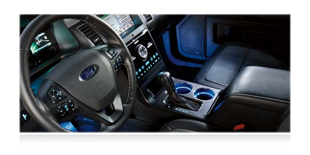 Ford Flex Ambient Lighting