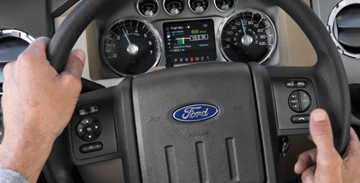 2016 Ford Super Duty comfort
