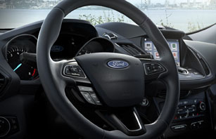 New Steering Wheel with Available Heat Feature