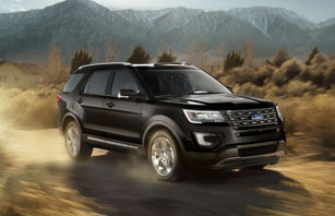 2017 Ford Explorer safety
