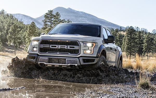 2017 Ford Raptor performance