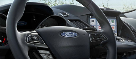 Ergonomic Steering Wheel with Available Heat Feature