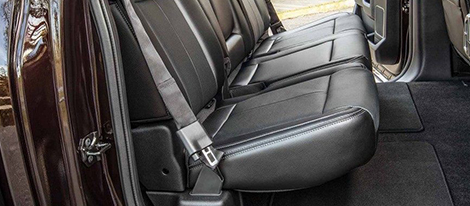 Inflatable Second-Row Safety Belts (SuperCrew<sup>&reg;</sup>)
