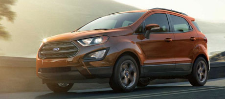 2018 Ford EcoSport performance
