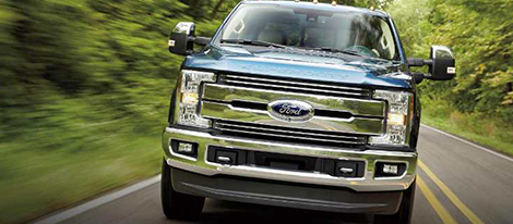 2018 Ford Super Duty comfort