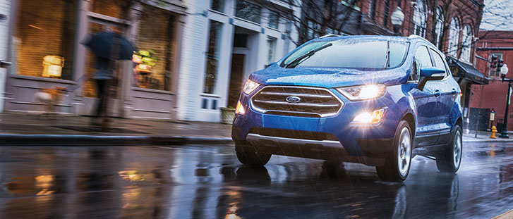 2019 Ford EcoSport performance
