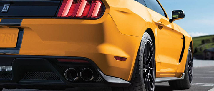 2019 Ford Mustang Shelby GT350 performance